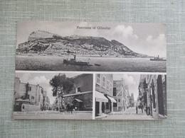 CPA PANORAMA OF GIBRALTAR MULTI VUES - Gibraltar