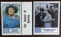 South Georgia 1990 Queen Mother MNH - Südgeorgien