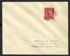 FRANCE--Envelope-Letter--PORNICHET--LOIRE-INF.--1940 - Paketmarken