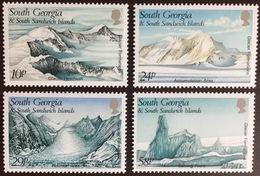 South Georgia 1989 Glacier Formations MNH - Südgeorgien