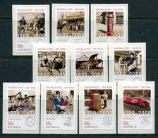 Australia 2009 Bicentenary Of Postal Services In Australia - Self-adhesive Set MNH (SG 3168-3177) - 2000-09 Elizabeth II