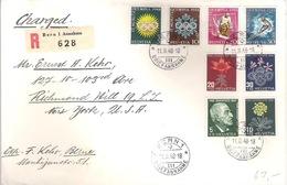 Schweiz Suisse 1948: Zu  Pro Juventute 121-124 & Olympia WIII25-28 Mi 488-495 Yv 445-452 O BERN 11.II.48 (Zu CHF 62.00) - Pro Juventute