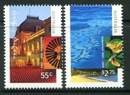 Australia 2009 150th Anniversary Of Queensland Set MNH (SG 3205-3206) - 2000-09 Elizabeth II