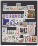 1985-FRANCE-ANNEE COMPLETE 1985**.46 TIMBRES - 1980-1989