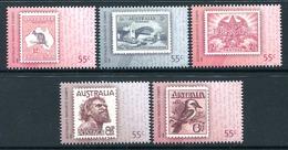 Australia 2009 Bicentenary Of Postal Services In Australia Set MNH (SG 3208-3212) - 2000-09 Elizabeth II