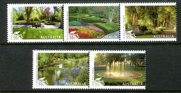 Australia 2009 Parks And Gardens Set MNH (SG 3224-3228) - 2000-09 Elizabeth II