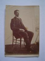 PHOTOGRAPHIE Ancienne : ALEXANDRE SERRE 1898 - 1918 / ETUDIANT EN MEDECINE Mort à La Guerre - Personas Identificadas
