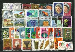 PAPOUASIE NOUVELLE-GUINÉE. 41 Beaux Timbres Oblitérés,TOUS DIFFERENTS, Series Complètes. Cote 29 € - Lots & Kiloware (mixtures) - Max. 999 Stamps
