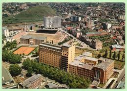 CPSM - CHARLEROI - Vue Aérienne, Stade Communal - - Charleroi