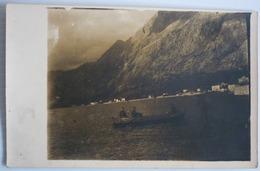 MONTENEGRO - KOTOR - CATTARO ORIGINAL PHOTO K.U.K. SOLDIERS IN BOAT - Montenegro