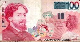 BELGIO 100 FRANCHI 1995- JAMES  ENSOR - [ 2] 1831-... : Regno Del Belgio