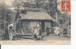 SAINT SEVER   Une Habitation De Bucherons Dans La Foret  1912 - France