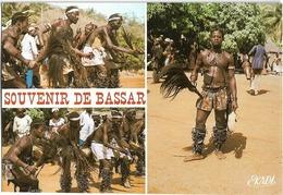TOGO - DANSE BASSAR - SOUVENIR DE BASSAR - CPSM Multivues (3 Clichés) Grand Format - Togo