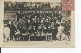 VIRE   Fanfare  1907 Carte Photo - Vire