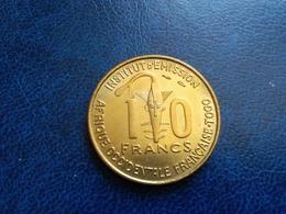 Afrique Occidentale Française  -  AOF  -  Togo  10 Francs 1957   -- SPL -- - Colonie