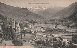 Carte Postale Ancienne De L'Ariège - Les Pyrénées Ariègeoises - Ercé, Près Aulus - Vue Générale - Andere Gemeenten