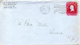 USA. Entier Postal De 2 Cents Ayant Circulé En 1904. George Washington. - George Washington