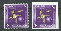 SHARJAJ  SELLOS SATELITES  MNH  ** - Sharjah