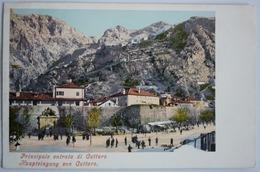 MONTENEGRO - KOTOR - CATTARO , PRINCIPALE ENTRATA DI CATTARO , ED. PURGER & CO. 1246 - Montenegro
