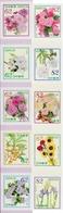 Japan - 2019 - Hospitality Flowers Omotenashi No. 12 - Mint Self-adhesive Stamp Set - 1989-... Empereur Akihito (Ere Heisei)
