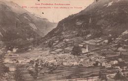 Carte Postale Ancienne De L'Ariège - Les Pyrénées Ariègeoises - Aulus - Vue Générale Du Village - Andere Gemeenten