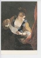 Jean Raoux 1677-1734 - La Liseuse (musée Baron Gérard Bayeux) Cp Vierge édition N°30 Par Le Musée - Pittura & Quadri