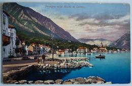 MONTENEGRO - PERZAGNO NELLE BOCCHE DI CATTARO , S.M.S. NOVARA KRIEGSMARINE FELDPOST - Montenegro
