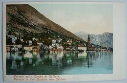 MONTENEGRO - PERASTO NELLE BOCCHE DI CATTARO , ED. PURGER & CO. 1662 - Montenegro