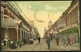 PERTH HAY STREET LOOKING EAST. Colored Postcard, Animated View / Carte En Couleur Vue Animée - Perth
