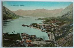 MONTENEGRO - KOTOR - CATTARO , K.U.K. FELDPOST 1918 - Montenegro