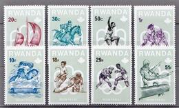 Ruanda MNH Set - Summer 1976: Montreal