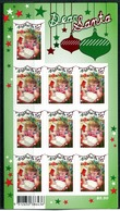 Australia 2010 Christmas - 1st Issue - 55c Girl - Foil Pane MNH (SG 3522) - Mint Stamps