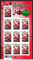 Australia 2010 Christmas - 1st Issue - 55c Santa - Foil Pane MNH (SG 3523) - Mint Stamps