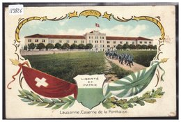 LAUSANNE - CASERNE DE LA PONTAISE - TB - VD Vaud