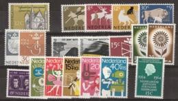 1964 Jaargang Nederland NVPH 811-835 Complete. Postfris/MNH** - Pays-Bas