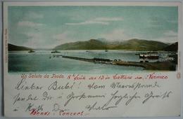 MONTENEGRO - UN SALUTO DA TEODO 1901 - Montenegro