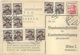 1936 - Fliegerspende - 10 X 12 Gr (RRR) - Puchberg / Schneeberg - 1918-1945 1st Republic
