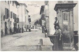 Italie Borgofranco Via Aosta (belle Animation) - Other Cities