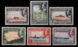 Curacao 1943 Eilanden NVPH 158-163 Postfris/MNH/** - Curacao, Netherlands Antilles, Aruba