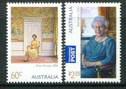 Australia 2011 85th Birthday Of Queen Elizabeth II Set MNH (SG 3585-3586) - Mint Stamps