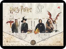 Portugal 2019 Harry Potter Dumbledore Mcgonagall Snape Hagrid Cinema Movie Literature Kino Littérature Film Usado - Kino