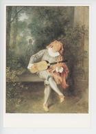 Antoine Watteau (1684/1721) Mezzetin (cp Vierge) - Peintures & Tableaux
