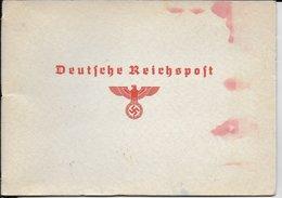 1936 - PETIT LIVRET OFFICIEL De La POSTE Du REICH - JEUX OLYMPIQUES - Allemagne