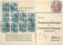 1936 - Fliegerspende - 10 X 24 Gr (RRR) - Wien - 1918-1945 1st Republic