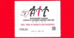 Nuovo - MNH - ITALIA - 2019 - 50 Anni Di AIL – Associazione Italiana Contro Le Leucemie – Logo - B - 1946-.. République