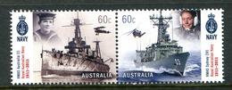 Australia 2011 Centenary Of Royal Australian Navy Set MNH (SG 3604-3605) - Mint Stamps