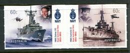 Australia 2011 Centenary Of Royal Australian Navy - Self-adhesive Set MNH (SG 3606-3607) - Mint Stamps