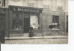 ENTREPRISE DE PEINTURE   L  DEMENOIS  Carte Photo  Ou ???? - Photos
