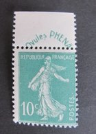 4)   Timbre N° 188  Neuf ** Sans Charnière-- Cote : 65.00€  !!! - Neufs