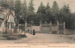 39 Mont Sous Vaudrey Entrée Principale Du Chateau J Grevy Ancien Président De La République - France